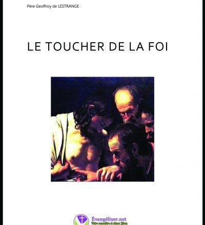 page couverture du livre Le toucher de la foi