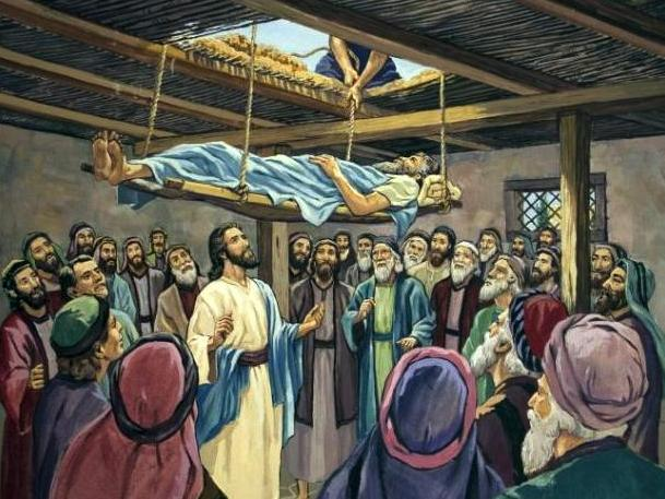 Jésus pardonne les péchés