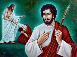 saint Thomas annonce la divinité de Jésus