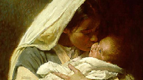 la tendresse d'une sainte mère
