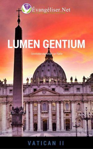 """Téléchargez gratuitement la constitution dogmatique sur l'Église """"Lumen Gentium"""", issue de Vatican II"""