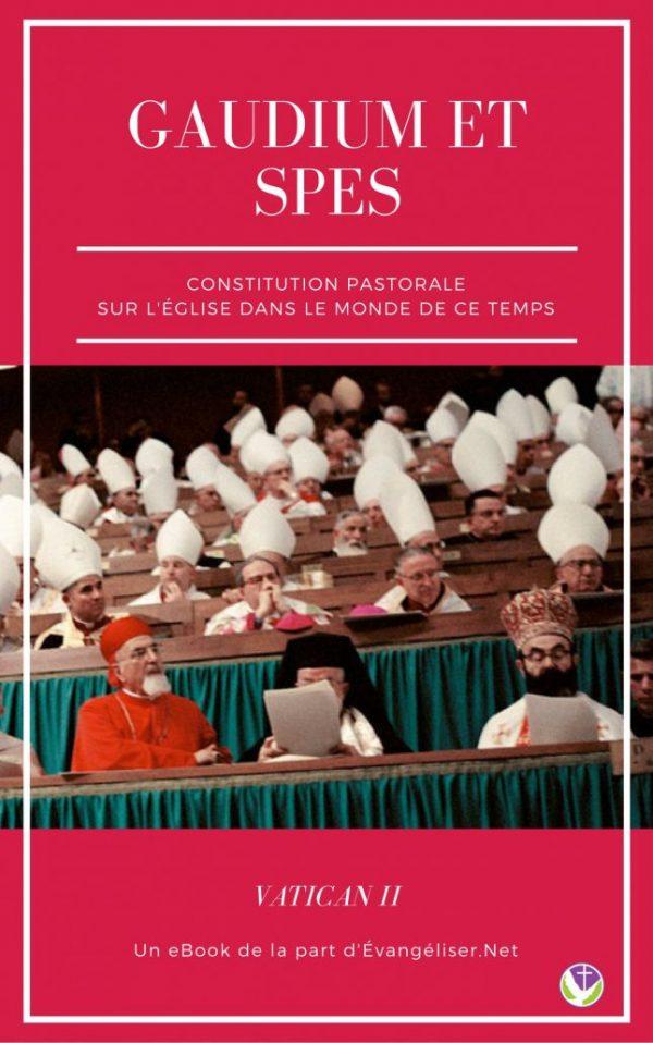 """Téléchargez gratuitement la constitution dogmatique """"Gaudium et Spes"""" issue du concile Vatican II"""