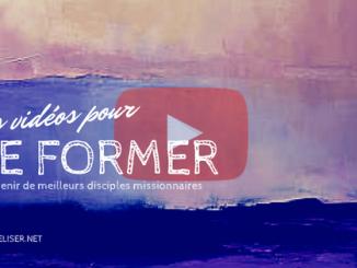 des vidéos pour se former et devenir de meilleurs disciples missionnaires
